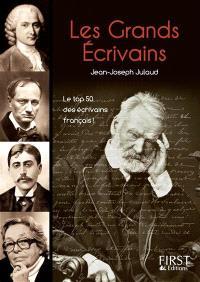Les grands écrivains : le top 50 des écrivains français !