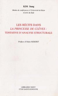 Les récits dans La princesse de Clèves : tentative d'analyse structurale
