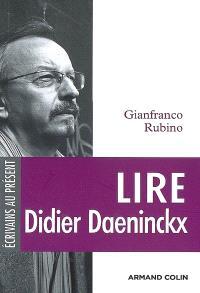 Lire Didier Daeninckx