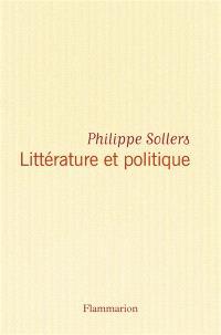 Littérature et politique