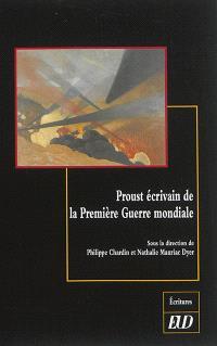 Proust écrivain de la Première Guerre mondiale