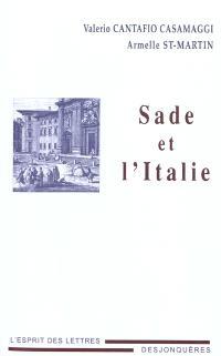 Sade et l'Italie