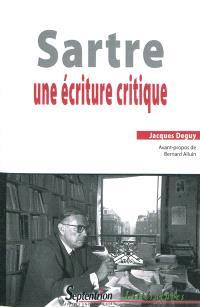 Sartre, une écriture critique
