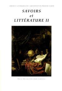 Savoirs et littérature 2