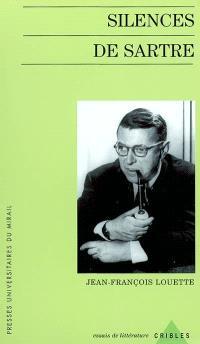 Silences de Sartre