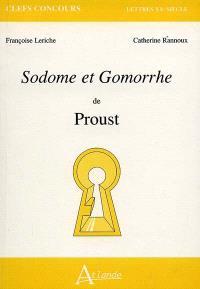 Sodome et Gomorrhe de Proust