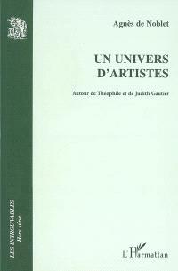 Un univers d'artistes : autour de Théophile et de Judith Gautier : dictionnaire