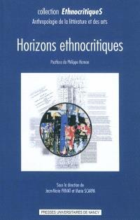 Horizons ethnocritiques