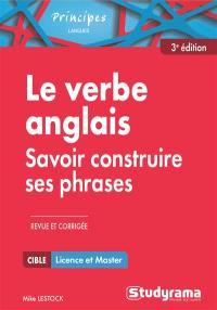 Le verbe anglais : savoir construire ses phrases