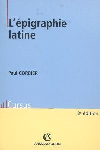 L'épigraphie latine