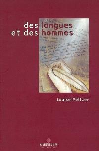 Leçon inaugurale : des langues et des hommes