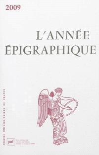 Année épigraphique (L'). n° 2009