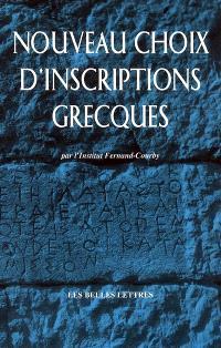 Nouveaux choix d'inscriptions grecques