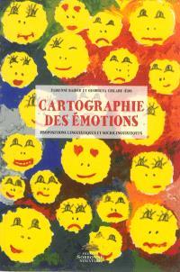 Cartographie des émotions : propositions linguistiques et sociolinguistiques