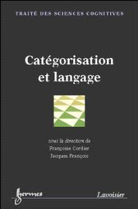 Catégorisation et langage