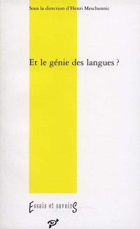 Et le génie des langues ?