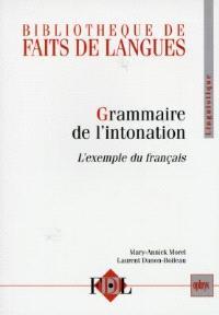 Grammaire de l'intonation : l'exemple du français