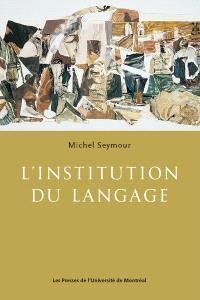 L'institution du langage