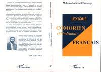 Lexique comorien (shindzuani)-français