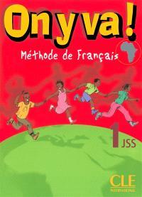 On y va ! : méthode de français, 1JSS