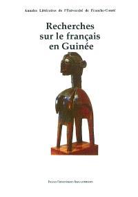 Recherches sur le français en Guinée